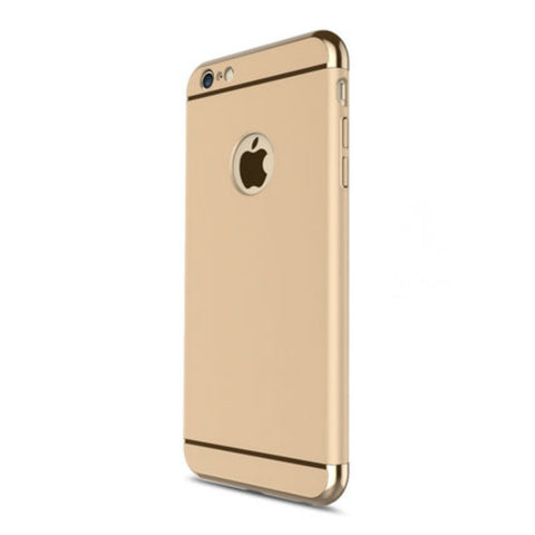 Hard Shell Case 5.5 inch for iPhone 6/6s Plus (Gold Steel Membrane)