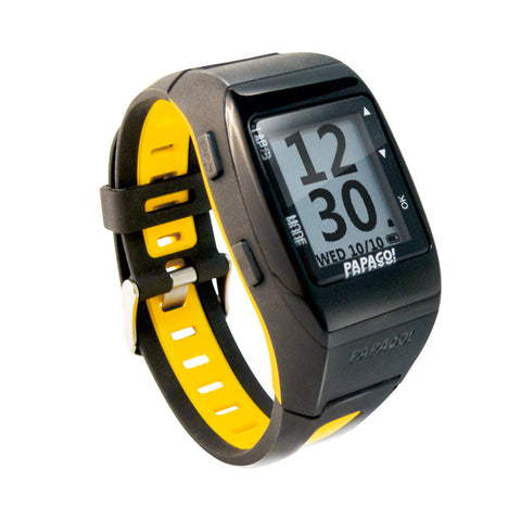 GOLife by Papago GoWatch 770 GPS Sports Watch Yellow