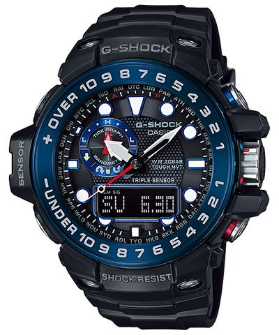 Casio G-Shock Gulfmaster GWN-1000B-1B Watch (New with Tags)