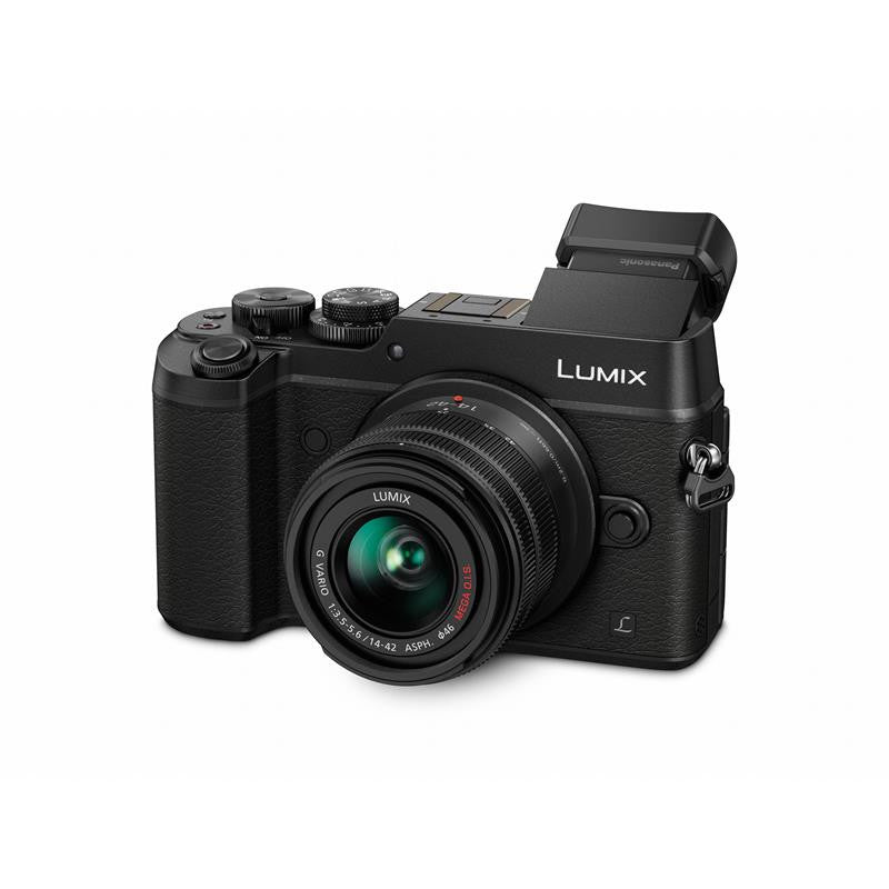 Panasonic Lumix DMC-GX8K with 14-42mm Black Mirrorless Digital Camera