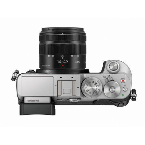 Panasonic Lumix DMC-GX8K with 14-42mm Silver Mirrorless Digital Camera