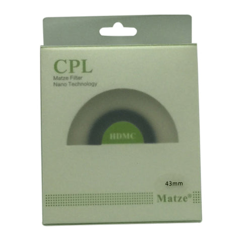 Matze 43mm HD MC-CIR Polarizer Filter