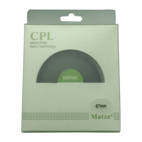 Matze 67mm HD MC-CIR Polarizer Filter
