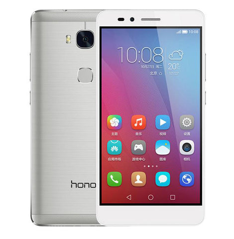 Huawei Honor 5X Dual 16GB 4G LTE Silver Unlocked