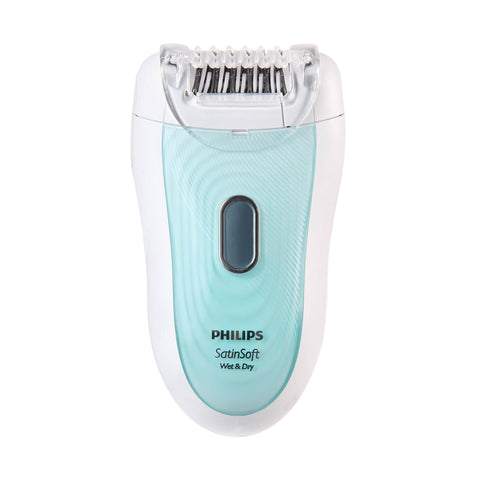 Philips SatinSoft HP6521 Epilator Wet And Dry