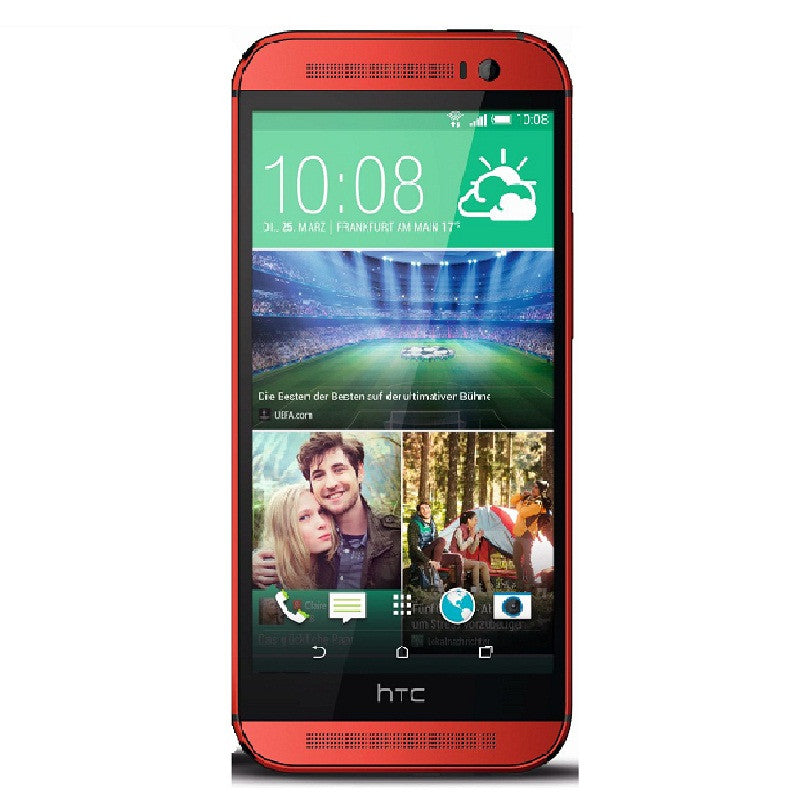HTC One M8 2014 Edition 16GB 4G LTE Red Unlocked