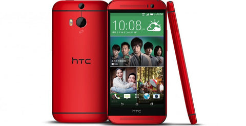 HTC One M8 2014 Edition 4G LTE 32GB Red Unlocked