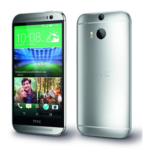 HTC One M8 2014 Edition 16GB 4G LTE Silver Unlocked
