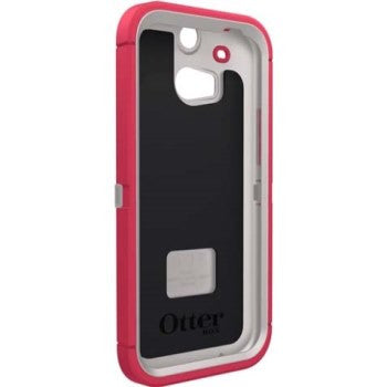 OtterBox Defender Series Case for HTC One M8 Neon Rose