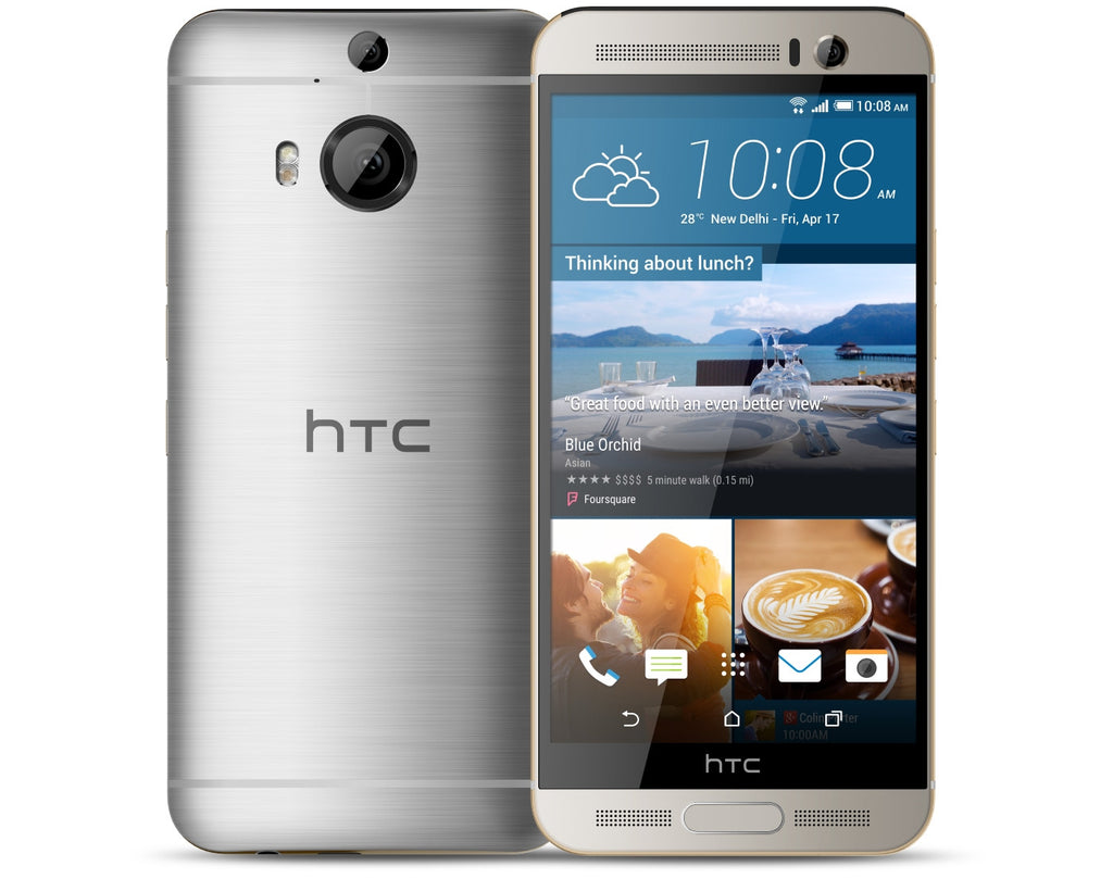 HTC One M9+ Supreme Camera Edition 32GB 4G LTE Silver Unlocked