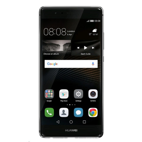 Huawei P9 Dual 32GB 4G LTE with Logo Titanium Grey (EVA-DL00) Unlocked (CN Version)
