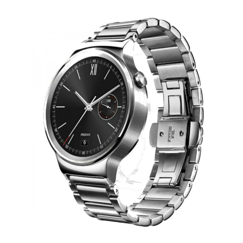 Huawei Link Silver Stainless Steel Smart Watch (Silver Case)