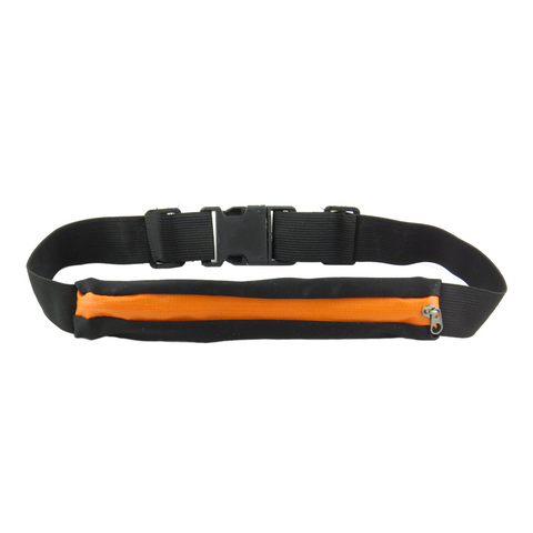 Running Pocket Belt Pouch Orange
