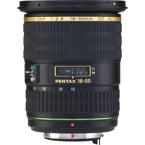 Pentax smc DA* 16-50mm f2.8 ED AL IF SDM Black Lens