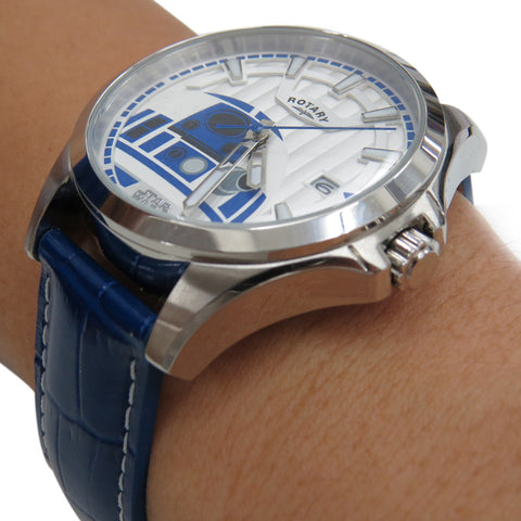 Rotary Star Wars The Force Awakens - Episode VII Collection R2-D2 RY7008D01 Watch (New with Tags)