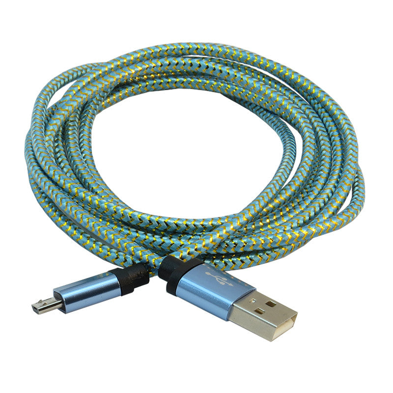 Micro USB 1m Cable (Blue)