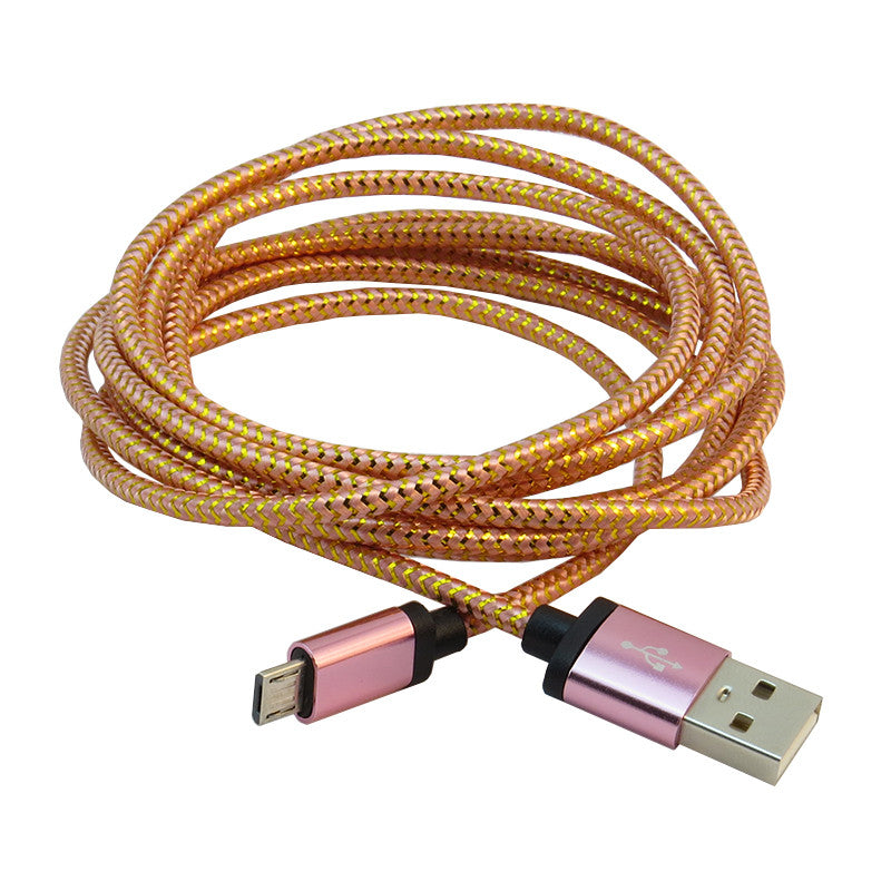Micro USB 2m Cable (Pink)