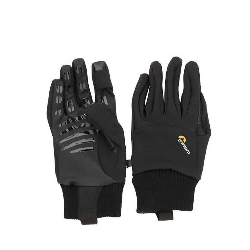 Lowepro ProTactic Photo Glove Pilot House Photography Slip Cloth Gloves Large (Black)