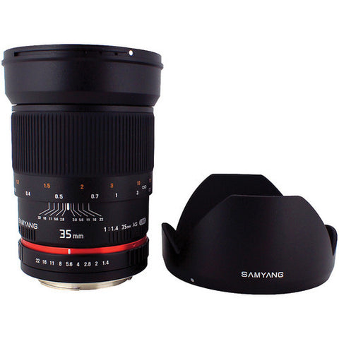 Samyang 35mm f/1.4 AS UMC (Pentax) Lens
