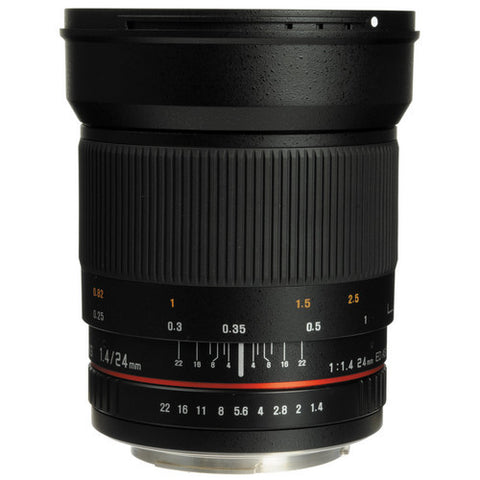 Samyang 24 mm f/1.4 ED AS UMC (Canon) Lens