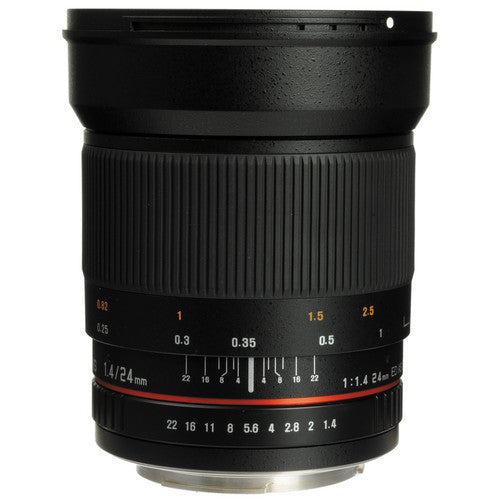 Samyang 24mm f/1.4 ED AS UMC Wide-Angle Lens (Pentax)