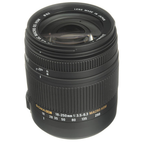 Sigma 18-250mm F3.5-6.3 DC MACRO OS HSM (Canon) Lens
