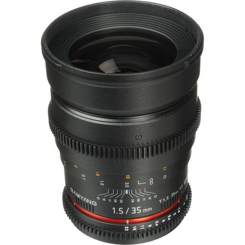 Samyang 35mm T1.5 AS UMC VDSLR (Sony A-Mount) Lens