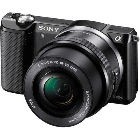 Sony Alpha A5000 ILCE-5000L with 16-50mm Lens Black Mirrorless Digital Camera
