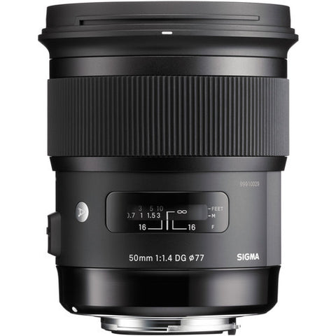 Sigma 50mm f1.4 DG HSM Art (Nikon) Lens (White Box)