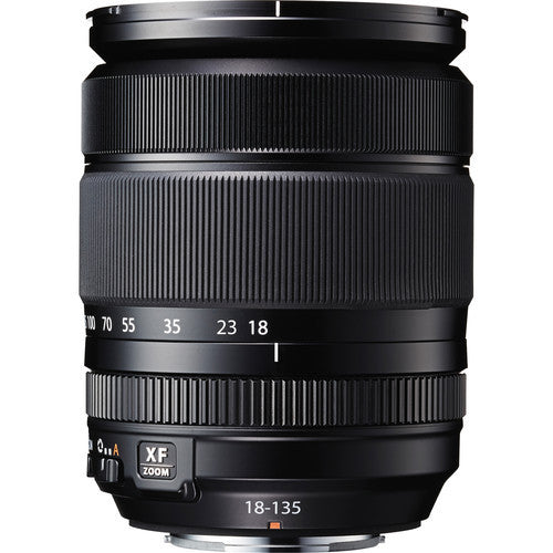 Fuji Film Fujinon XF 18-135mm F3.5-5.6R LM OIS WR Black Lens (White Box)