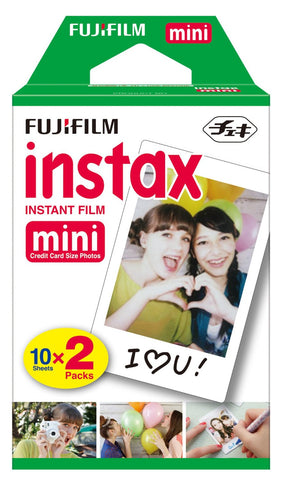 Fuji Film Instax Mini Instant Color Film (20 Sheets)