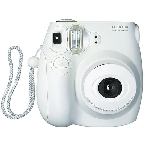 Fuji Film Instax Mini 25 White Instant Camera