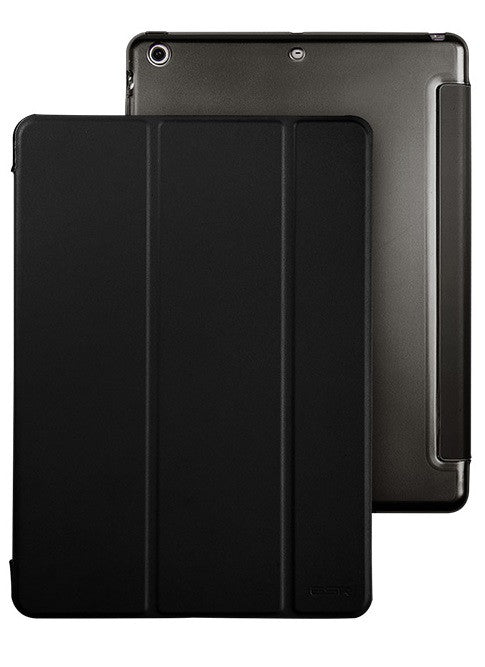 iPad Mini 1,2,3 Flip Cover with Hard Back Case (Black Magic)