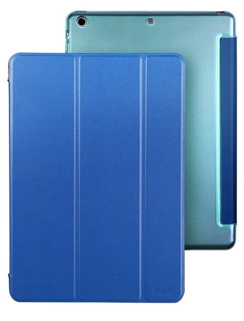 iPad Mini 1,2,3 Flip Cover with Hard Back Case (Sailor Blue)