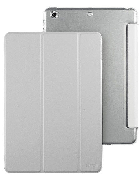 iPad Mini 1,2,3 Flip Cover with Hard Back Case (Galaxy Grey)