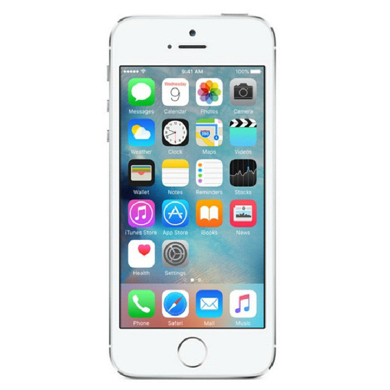 Apple iPhone 5S 32GB 4G LTE Silver Unlocked
