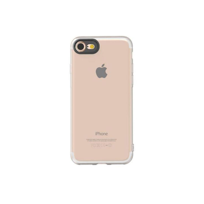 Soft Shell Drop Resistance Case for iPhone 7 (Transparent)