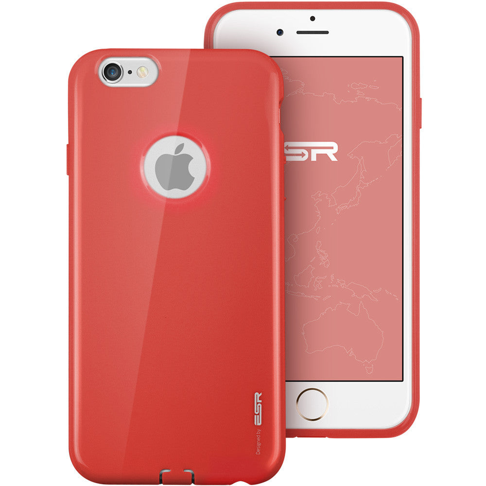 iPhone 6/ 6S Silicon Color Case (Energy Red)