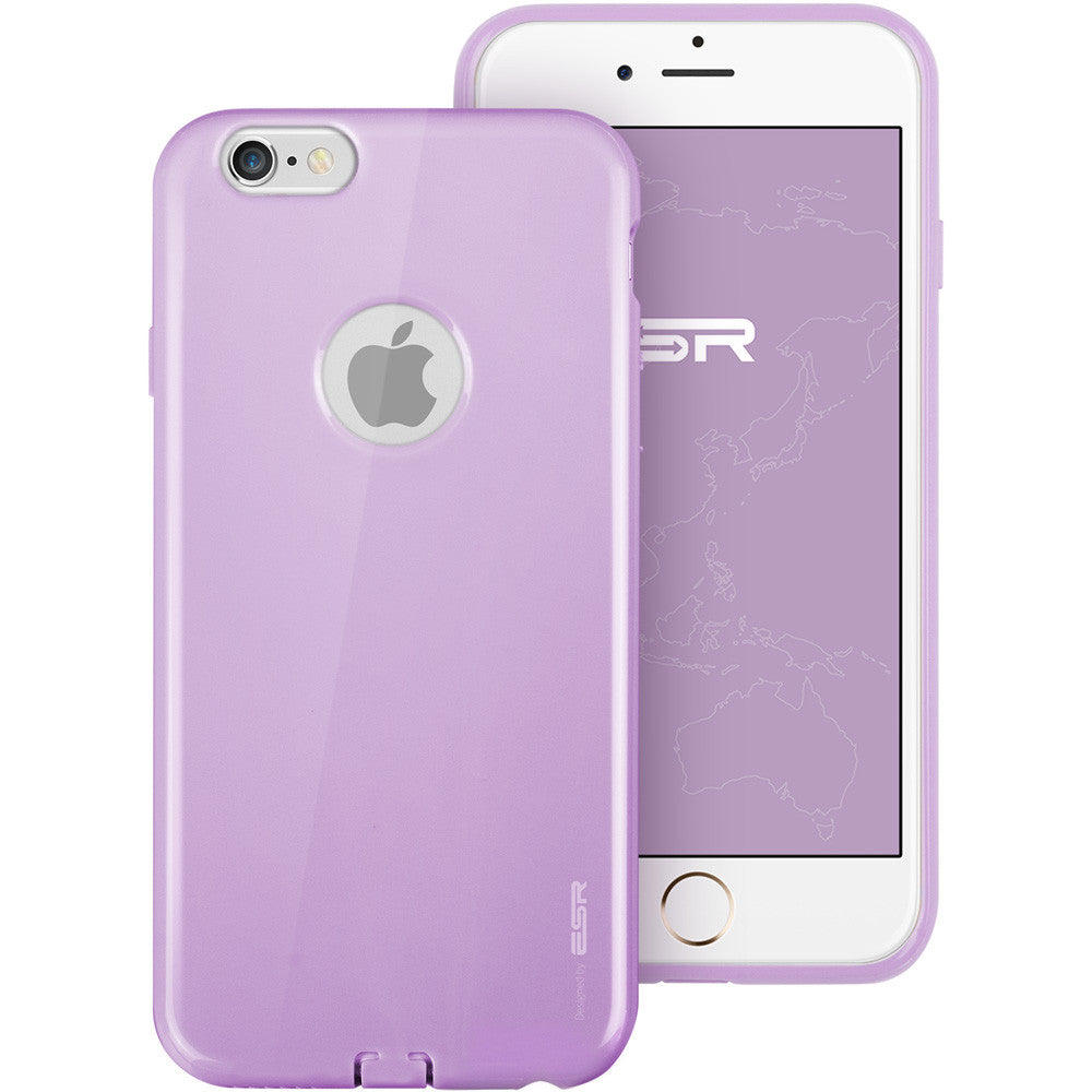 iPhone 6/6s Silicon Color Case (Vitality Purple)