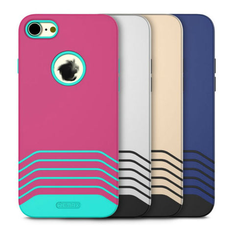 Soft and Hard Protective Shell Matte Case 4.7 inch for iPhone 7 (Blue)