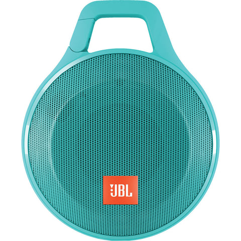 JBL Clip + Wireless Bluetooth Speaker (Teal)