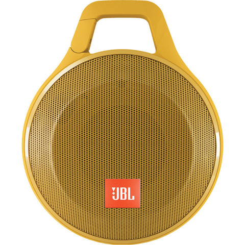 JBL Clip + Wireless Bluetooth Speaker (Yellow)