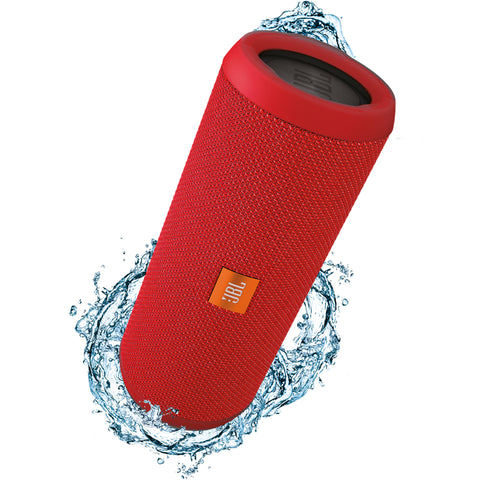 JBL Flip 3 Wireless Portable Stereo Speaker Red