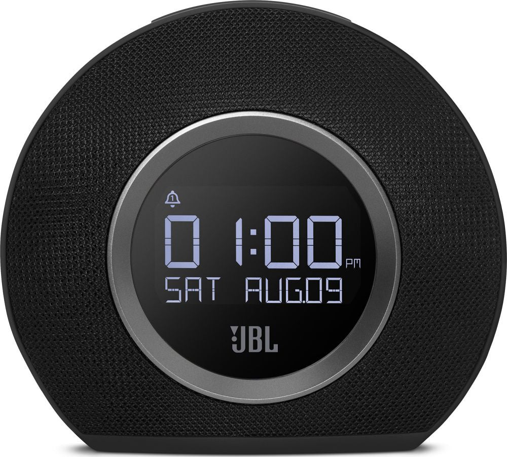 JBL Horizon Bluetooth Alarm Clock Radio Speaker Black