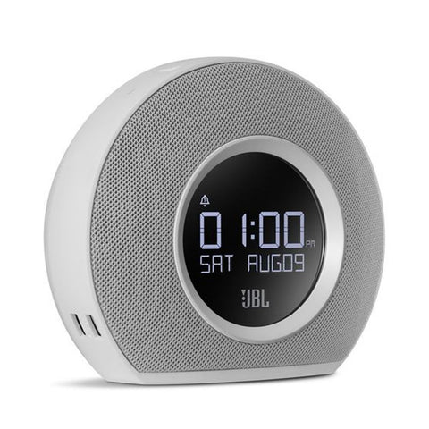 JBL Horizon Bluetooth Alarm Clock Radio Speaker White