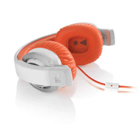 JBL J55a High Performance On-Ear Headphones Orange White