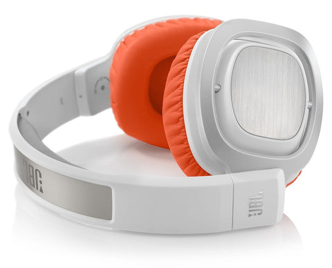 JBL J88 Premium Over-Ear Headphones Orange White