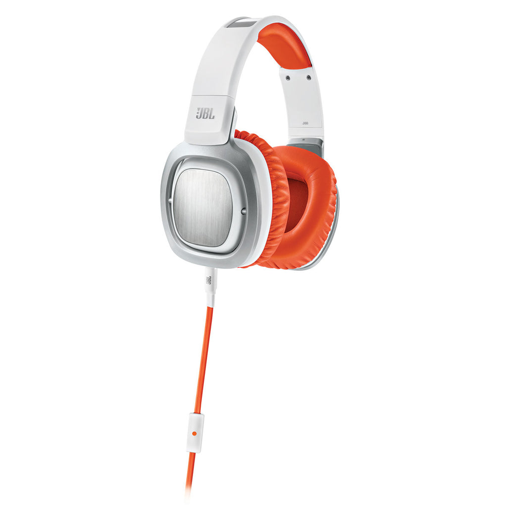JBL J88a Premium Over-Ear Headphones Orange White