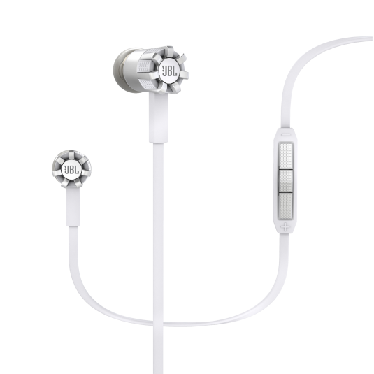 JBL S200a Durable In-Ear Headphones White