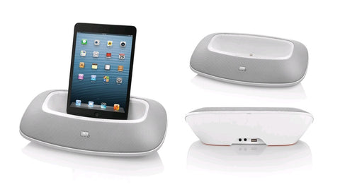 JBL OnBeat Mini Portable Speaker Dock White